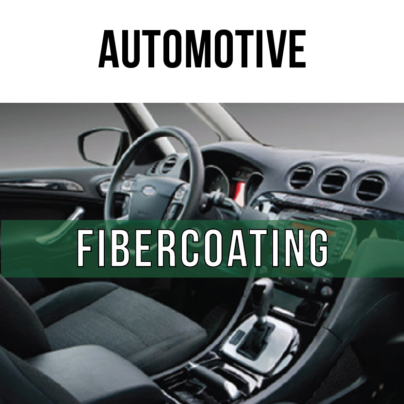 Fibercoating Adhesives